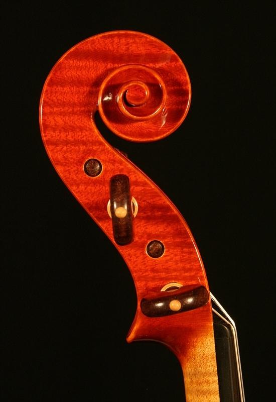 """2007年 ヴァイオリン ガリンベルティ・モデル """"1970""""_a0197551_08062893.jpg"""