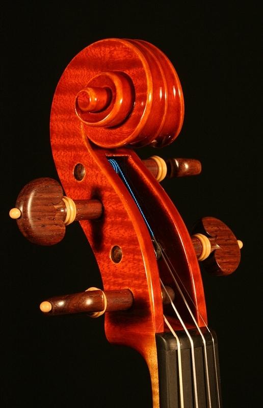 """2007年 ヴァイオリン ガリンベルティ・モデル """"1970""""_a0197551_08064129.jpg"""
