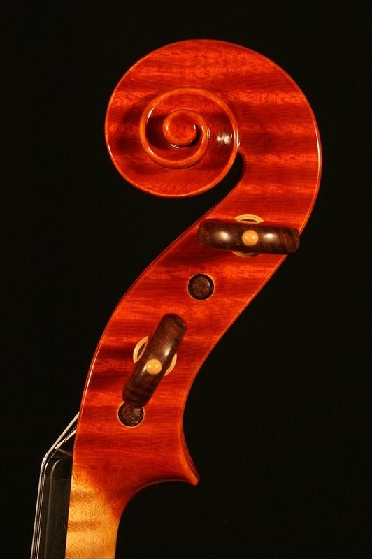 """2007年 ヴァイオリン ガリンベルティ・モデル """"1970""""_a0197551_08065511.jpg"""