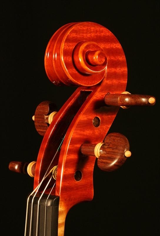 """2007年 ヴァイオリン ガリンベルティ・モデル """"1970""""_a0197551_08070993.jpg"""