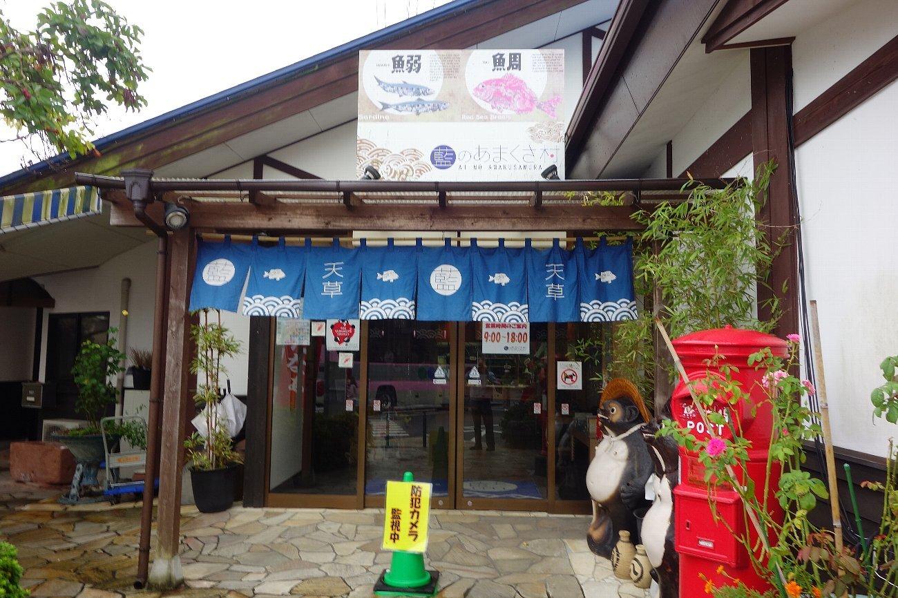 藍のあまくさ村「日本一大きな天草四郎像」_c0112559_08271052.jpg