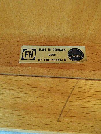 Fritz Hansen Highback chair_c0139773_18213368.jpg