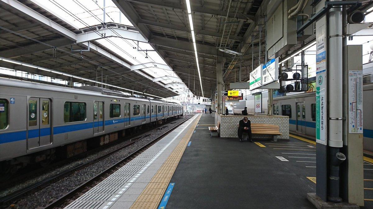 [小田急編] 乗降位置を変えずに電車を乗り継ぎホームの端から端まで移動する_a0332275_16471970.jpg