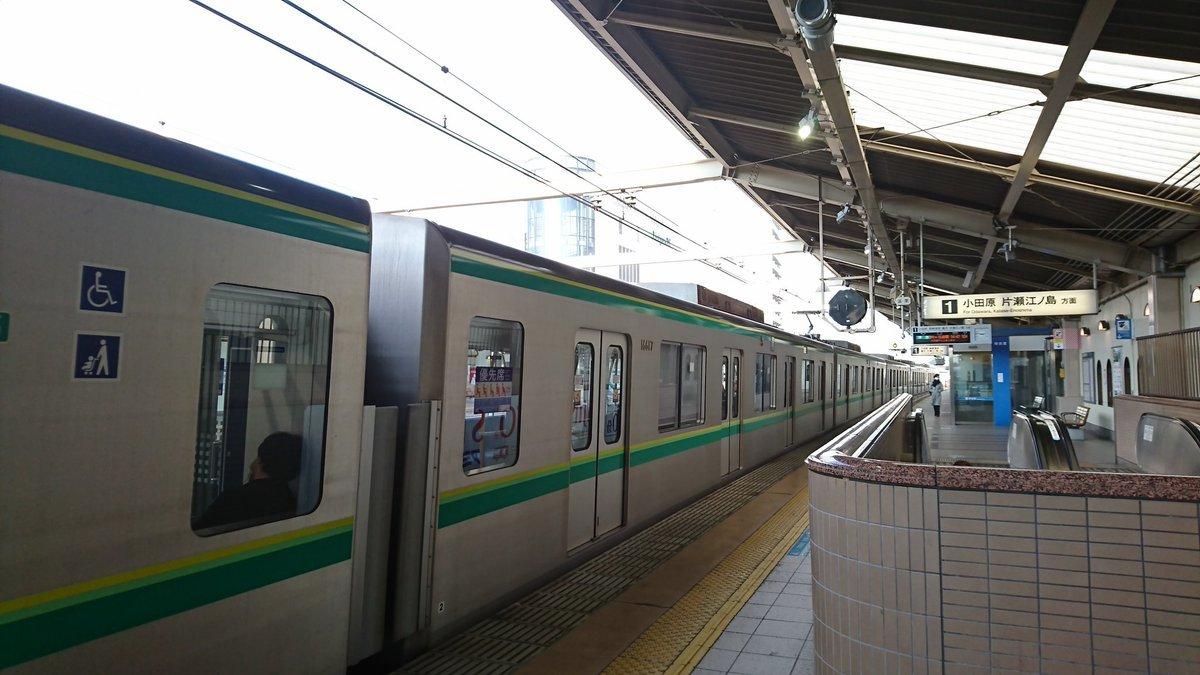 [小田急編] 乗降位置を変えずに電車を乗り継ぎホームの端から端まで移動する_a0332275_17083010.jpg