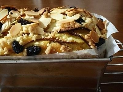 ハーゲンダッツ チェリーカスタードパイと100均パウンド型で林檎の焼き菓子 ガトーインビジブル♪_f0231189_14595575.jpg