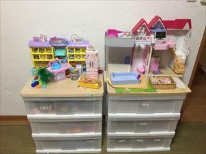 7歳と8歳の女の子の おもちゃのおかたづけ♪_a0239890_15050773.jpg