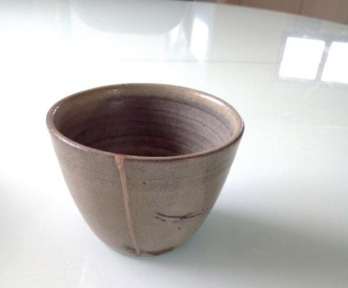 蕎麦猪口の修理・ヒビ  Réparation -fissure du Sobachoko-_e0243221_22313263.jpg