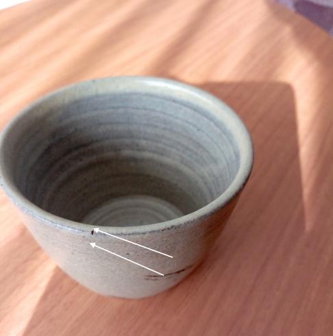 蕎麦猪口の修理・ヒビ  Réparation -fissure du Sobachoko-_e0243221_22391509.jpg