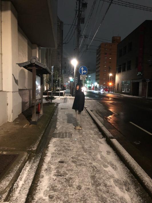 ダイスケ来陸(スキー合宿1日目)_c0113733_22315520.jpg