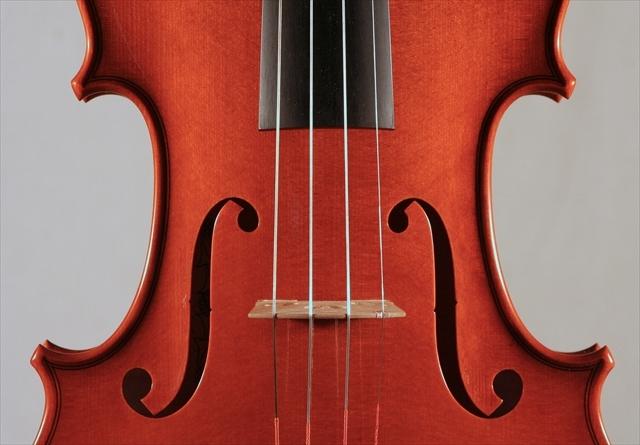 """2011年 ヴァイオリン ストラドモデル \""""1707\"""" カテドラル_a0197551_06351234.jpg"""