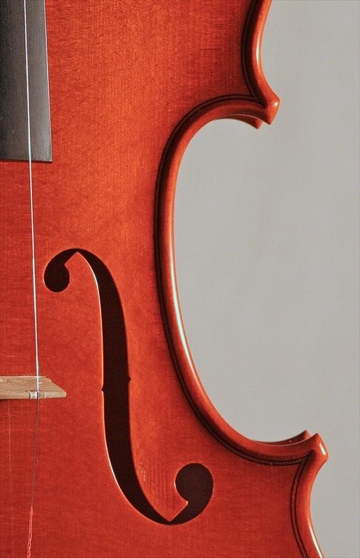 """2011年 ヴァイオリン ストラドモデル \""""1707\"""" カテドラル_a0197551_06353523.jpg"""