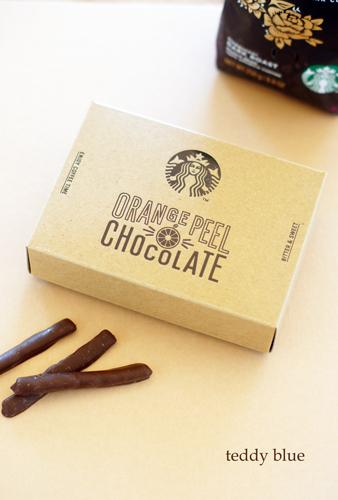 Starbucks orange peel chocolate スターバックス オレンジピールチョコ_e0253364_16305575.jpg