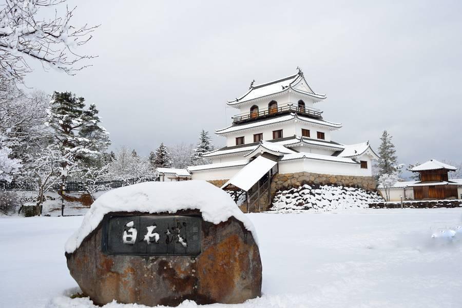 お城と雪_b0223668_07395928.jpg