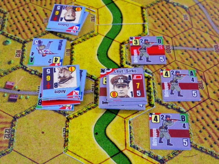 俺をそんなに喜ばすやつがあるか!! (Draco Ideas)Normandy:The Beginning of the Endの初期出資者特典シナリオ「レジスタンス1、2」の為のオスト大隊ユニット_b0173672_22582744.jpg
