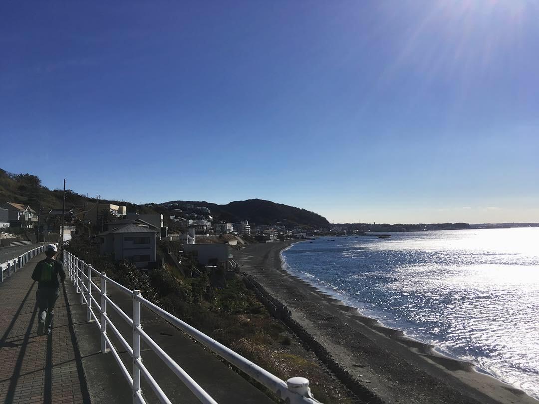 2019.1.26-27 三浦半島を南下するラン旅_b0219778_19362505.jpg