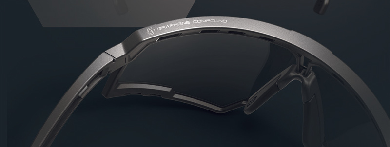 RUDYPROJECT(ルディープロジェクト)新素材GRAPHENE COMPOUND(グラフェン コンパウンド)採用スポーツサングラス発売開始!_c0003493_09212543.jpg