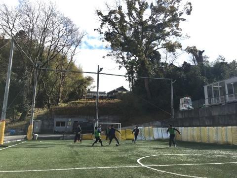 ゆるUNO 1/27(日) at UNOフットボールファーム_a0059812_18061096.jpg