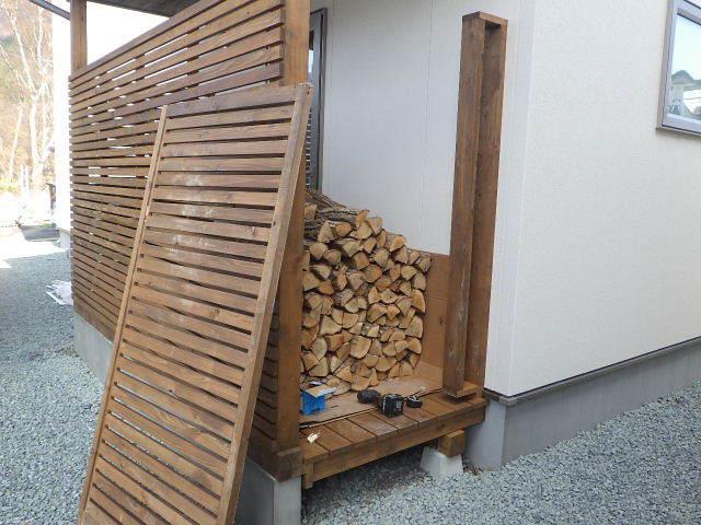 岩泉の家 外構工事が進行中です。_f0105112_04291801.jpg