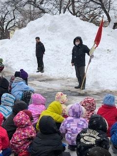 避難訓練(冬季・地震)_d0382316_14430995.jpg