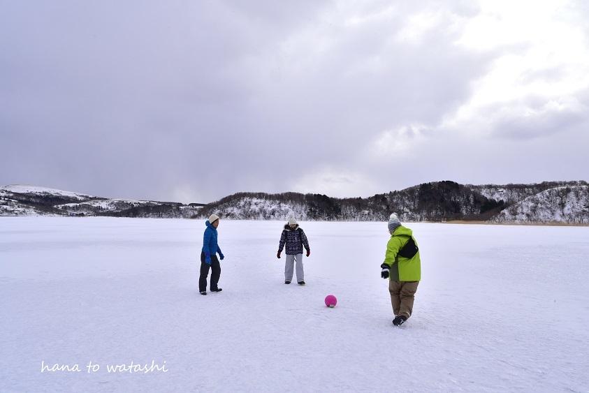 久種湖の上でアイスクリームづくり。_e0120026_08451678.jpg