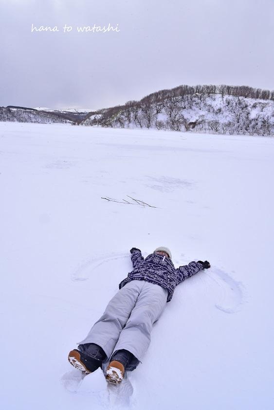 久種湖の上でアイスクリームづくり。_e0120026_08495567.jpg