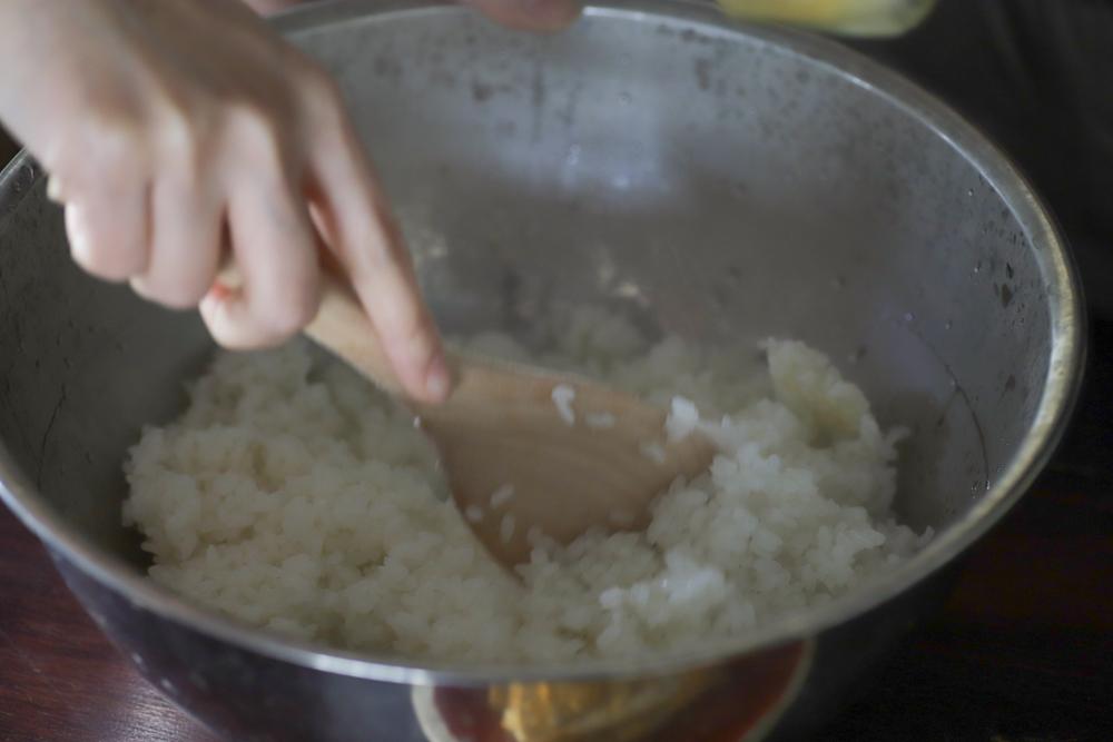 じばさんらんちき社員で食堂 -丹文窯の器で恵方巻-_e0295731_10532288.jpg