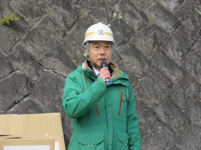 村木神社で「文化財防火訓練」_d0247833_10040457.jpg