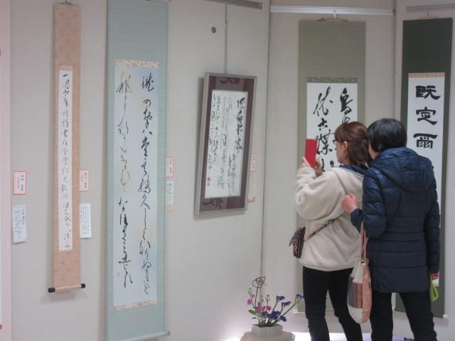 新春文化展と東浦町歴史パネル展_d0247833_10390157.jpg