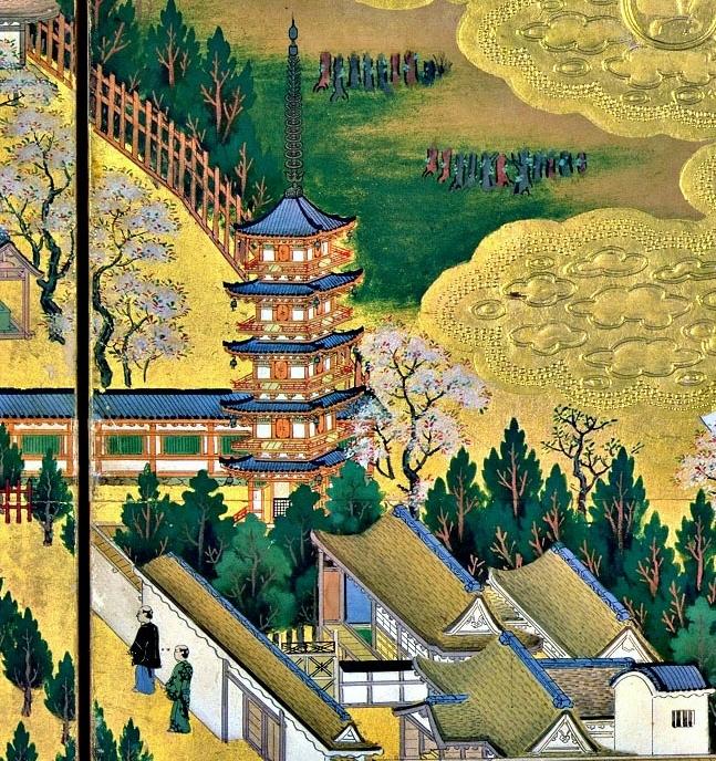 上野寛永寺の五重塔_a0277742_20104011.jpg