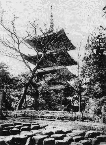 芝増上寺の五重塔_a0277742_20311182.jpg