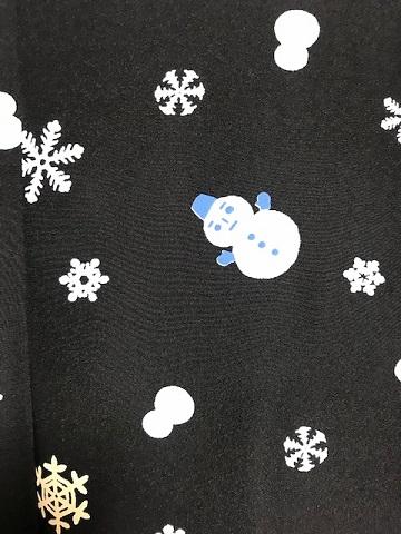 藤井絞・雪だるま羽織のお客様・鶴は雪だるま襦袢を羽裏に_f0181251_15214891.jpg