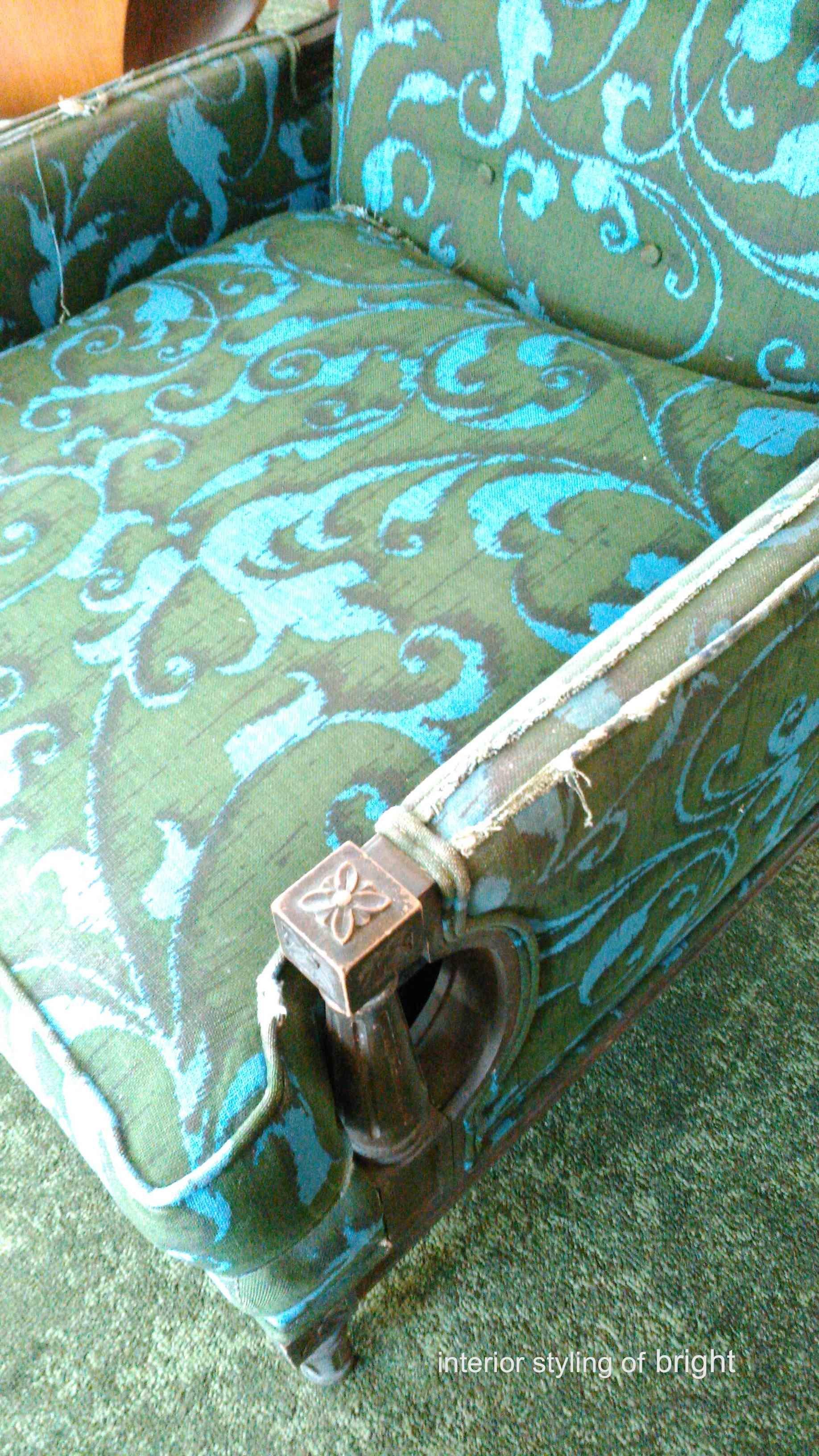 モリス 椅子張替『ラークスパー』 ウィリアムモリス正規販売店のブライト_c0157866_15011579.jpg