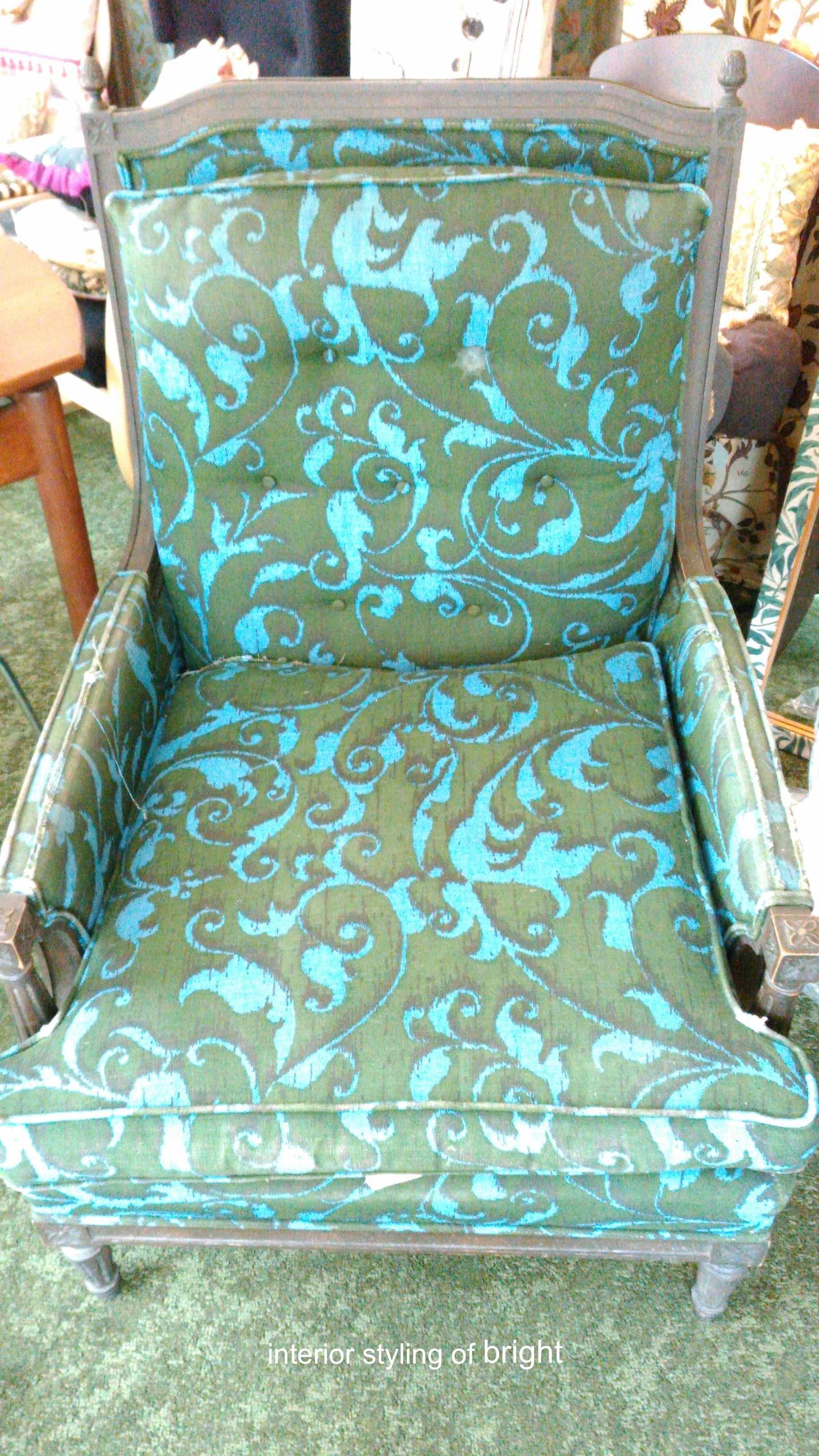 モリス 椅子張替『ラークスパー』 ウィリアムモリス正規販売店のブライト_c0157866_15013610.jpg