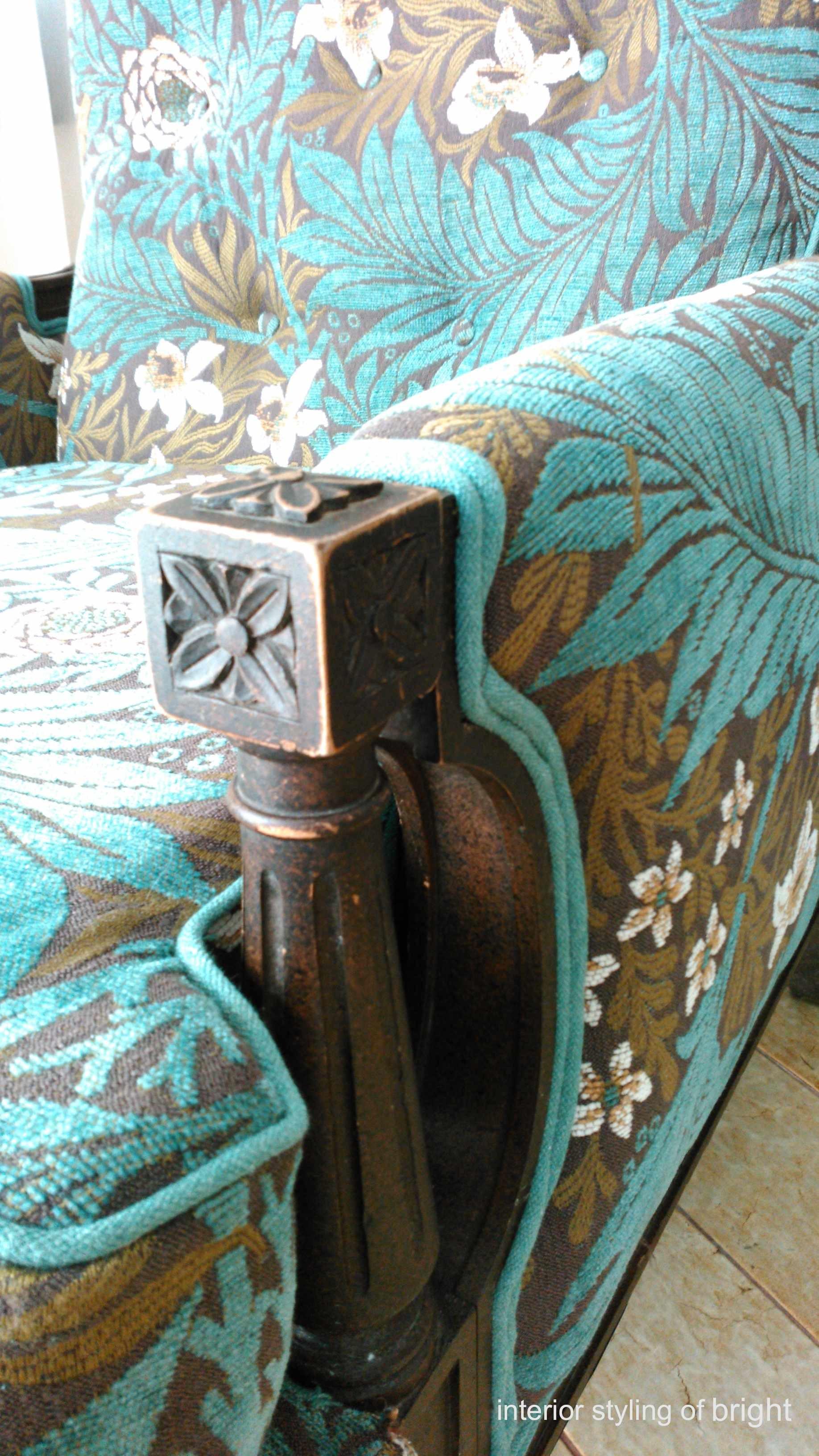 モリス 椅子張替『ラークスパー』 ウィリアムモリス正規販売店のブライト_c0157866_15053073.jpg