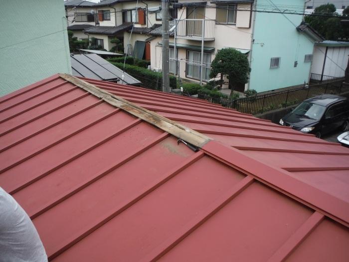 小工事 ~ 屋根補修_d0165368_07221643.jpg