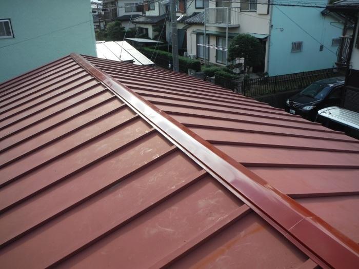 小工事 ~ 屋根補修_d0165368_07242545.jpg