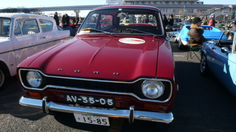 お台場 JCCA NYM  Ford escort MK1  station wagon_f0145372_08131816.jpg