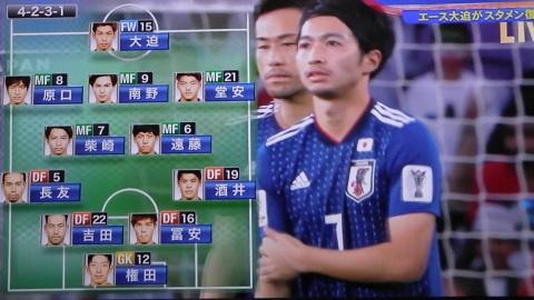 1/28(月) アジアカップ準決勝 イラン戦_a0059812_16184011.jpg