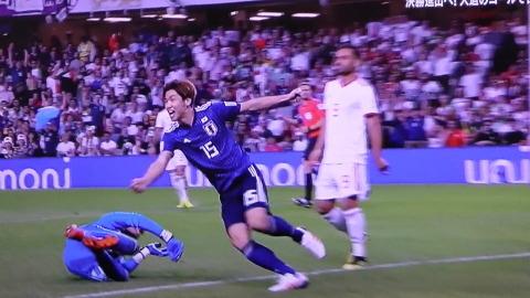 1/28(月) アジアカップ準決勝 イラン戦_a0059812_16253772.jpg