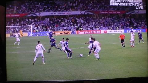 1/28(月) アジアカップ準決勝 イラン戦_a0059812_20102526.jpg