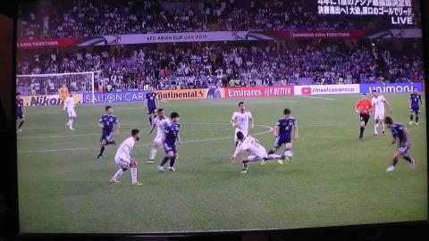 1/28(月) アジアカップ準決勝 イラン戦_a0059812_20102696.jpg