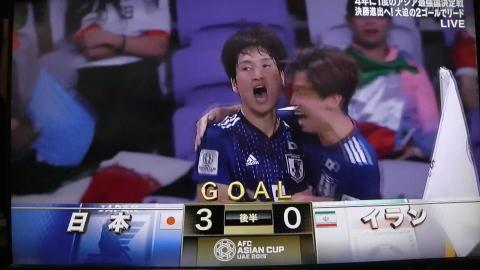 1/28(月) アジアカップ準決勝 イラン戦_a0059812_20123529.jpg