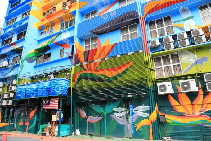 ブキッ・ビンタン散策/ウォールアート マレーシア旅行 - 7 -_f0348831_22283379.jpg