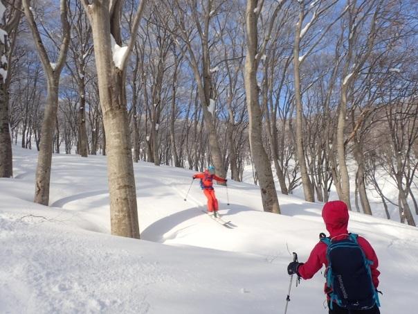 山スキーシーズン開幕_b0133032_23374731.jpg