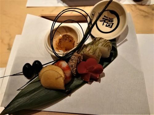 神楽坂 九頭龍蕎麦 はなれ で記念日ディナー_c0100865_22392155.jpg