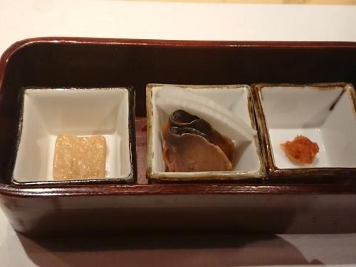 神楽坂 九頭龍蕎麦 はなれ で記念日ディナー_c0100865_22450743.jpg
