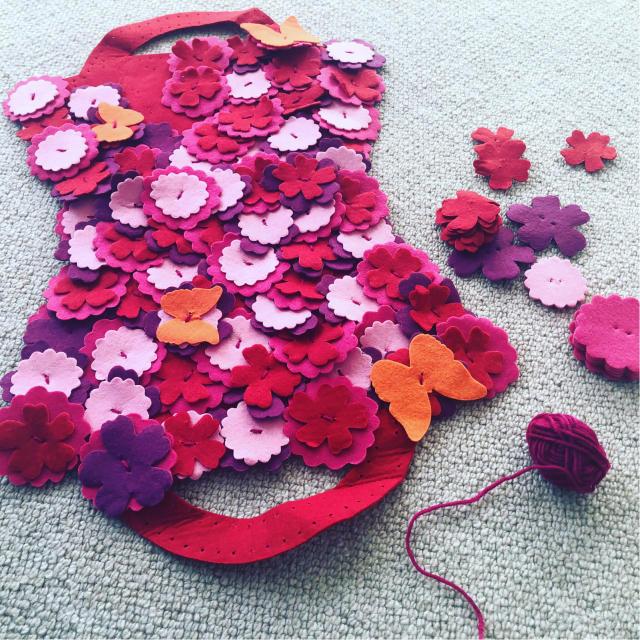 お花のバッグ作り_e0309971_09514193.jpg