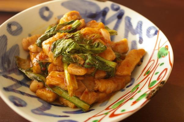 今日の夕食:鯵と蓮根のサムジャン炒め_d0327373_19211949.jpg
