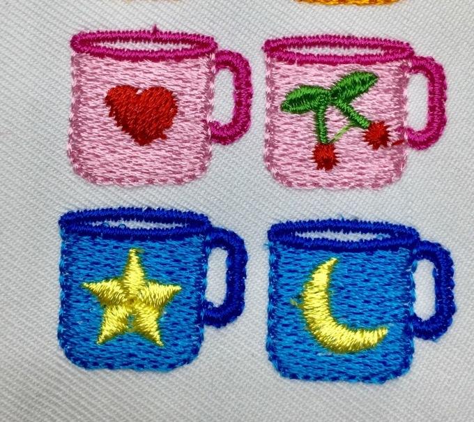 コップとミニカー刺繍_e0385587_21080601.jpeg