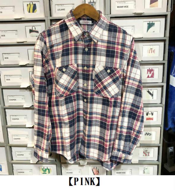 ★スプリングネルチェック ワークシャツ ★_e0084716_15163515.jpg